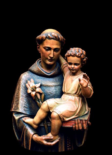 Acenda uma vela para Santo Antônio