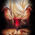 """""""Um dos soldados abriu-lhe o lado com uma lança e, imediatamente, saiu sangue e água"""". (Jo 19,34)."""