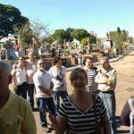Peregrinação e Missa no Cemitério da Saudade