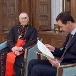 Carta do Papa a Assad. Dom Zenari: esperamos em uma solução