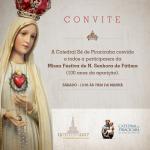 Missa Festiva de Nossa Senhora de Fátima. Participe!
