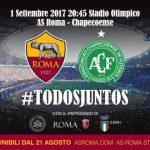 Chapecoense jogará em Roma e quer ver o Papa