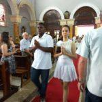 Primeira eucaristia na Paróquia de Santo Antônio – 10/12/2017