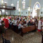 Celebração do Domingo de Ramos, dia  25/03/2018