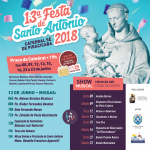 Participe da Festa de Santo Antônio!