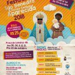 Participe da Festa de São Benedito e Nossa Senhora Aparecida 2018!