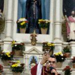 """Missa e 3º Dia do Tríduo de São Benedito com o tema:""""Bendito, da fidelidade evangélica""""."""