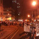 Dia de São Benedito, com Missa Solene e procissão até a Catedral. Foi presidida pelo pároco Monsenhor Ronaldo.