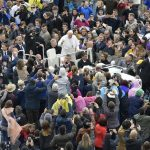 Audiência: alimento não é propriedade privada. O apelo do Papa pelas crianças famintas