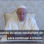 O Papa a Scholas Occurrentes: educar é ouvir, criar cultura, celebrar