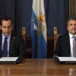 Papa se encontra com os capitães regentes da República de San Marino