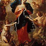 Santo Terço em 31 de maio dedicado a Nossa Senhora Desatadora dos Nós com o papa