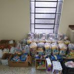 Alimentos arrecadados agosto – Pia União