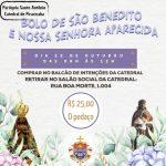 Bolo de São Benedito e Nossa Senhora Aparecida